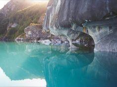Lago general Carrera y Rio Baker, Patagonia Chile