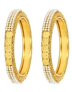 INDIAN BRIDAL GOLD PLATED PEARL BANGLES BRACELET WEDDING JEWELRY  #uniquegemstone17 #Bangle Indian Party, Indian Bridal, Wedding Bracelet, Wedding Jewelry, Bangles, Bracelets, Ladies Party, Wedding Wear, Party Wear