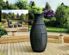 Sorrento Rattan 2 Seat Bottle Bistro Set (1 Table, 2 Chairs & Cushions)  #furniture #garden #summer #gardencentre Garden Centre, Bistro Set, Sorrento, Rattan, Chairs, Cushions, Range, Bottle, Summer