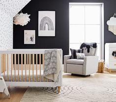 Paxton Swivel Glider & Recliner, In-Stock Baby Boy Rooms, Baby Bedroom, Baby Room Decor, Babies Nursery, Nursery Decor, Kid Rooms, Nursery Room, Monochrome Nursery, Nursery Neutral