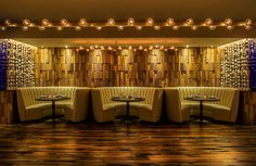 26 wall panels made of wood and exclusive wall cladding - Home Decoration Diy Wood Wall, Wooden Wall Panels, 3d Wall Panels, Wooden Walls, Restaurant Lighting, Bar Lighting, Kitchen Lighting, Lighting Ideas, Wall Cladding Panels