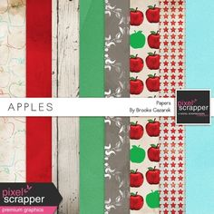 Apples Paper Kit
