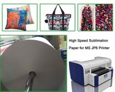 New Generation Jumbo  Roll  75gsm Fast Dry Sublimation Paper Epson Surecolor F6280 Original C.M.Y.HDK Ink More: http://feiyuepaper.com/product/jumbo-roll-fast-dry-anti-curl-75gsm-44--sublimation-transfer-paper-chinese-manufacturer/