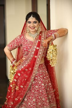 """Photo from album """"Wedding photography"""" posted by photographer PIP Broadcast Red Lehenga, Bridal Lehenga, Saree Wedding, Wedding Dresses, Saree Gown, Wedding Preparation, Indian Bridal, New Dress, Wedding Colors"""