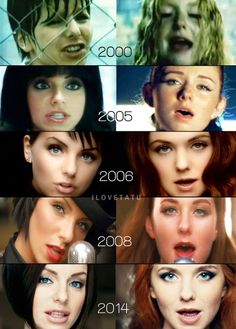 t.A.T.u 14-years comparison. Very cool :D Somewhat crazy in Yulia's case.