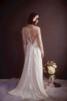 Robe de mariée rétro chic - Hortense - Elsa Gary 2016