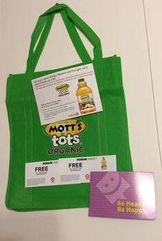 #ad I got my #freesample #MottsForTotsOrganic SmileyKit, so I will be heading out to get Mott's For Tots Organic Apple Juice which is available only at #Target! Save 25% and give me your thoughts!