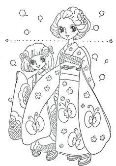 Vintage Japanese Coloring Book 13 - Mama Mia - Picasa Web Albums