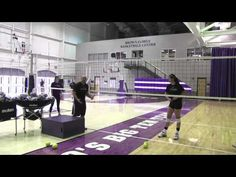 AVCA Video Tip of the Week - Middle Blocking & Tracking the Ball - YouTube
