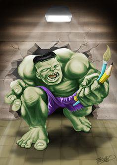 #Hulk #Fan #Art. (Hulk) By: Emerson Martins. ÅWESOMENESS!!!™ ÅÅÅ+
