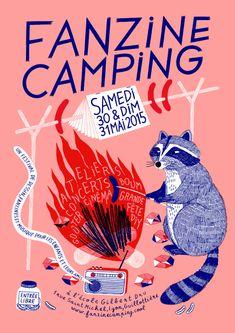 Fanzine Camping - amélie fontaine