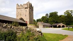 The Stangford Castle Ward Estate and the Castle Ward tower stands proudly in County Down, ...