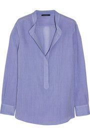 Wes GordonOversized gauze shirt