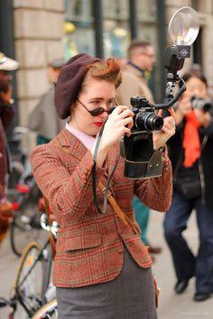 Tweed Run – the ladies   Preposity Preposity