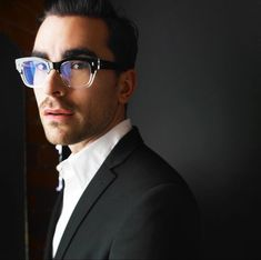 David Meme, Celebrities With Glasses, Daniel Levy, Schitts Creek, Entertainment Weekly, Inspiring People, My Crush, Prince Charming