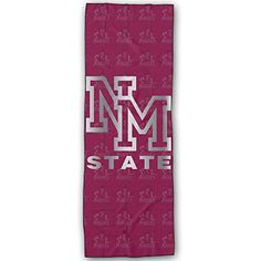 New Mexico State Aggies Platinum Logo Yoga Mat Towel *** To view further for this article, visit the image link. #YogaTowels