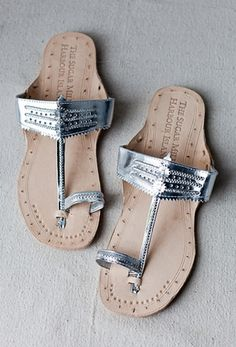 way cooler than flip flops to wear to the pool.