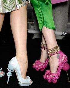 Amazing Unique Heel styles......... Really Funky! : Fashion, Beauty picture #cool #heels
