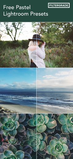 A fun pack of free pastel Lightroom Presets for your photography and blog images.