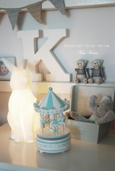 Rabbit nightlamp Nurseries, Kids Rooms, Little Boys, Rabbit, Bedrooms, Table Lamp, Jar, Home Decor, Babies Rooms