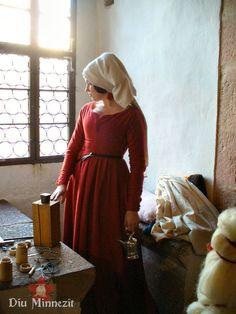 Am Fenster in Burg Kriebstein