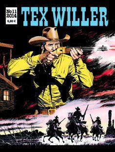 Tex Willer -lehti no 11/2014. #egmont #sarjakuva #sarjakuvalehti #sarjis