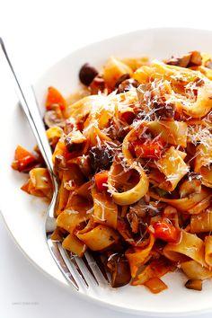 Mushroom Bolognese - Gimme Some Oven