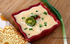 Gourmet Girl Cooks: Creamy Chicken Enchilada Soup - Luscious Low Carb