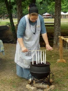 Old School  www.candlemaking.com