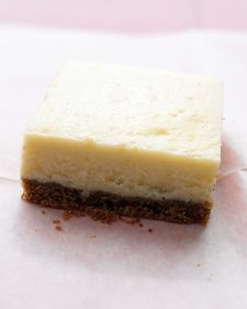 Lemon Cheesecake Squares, Recipe from Everyday Food, June 2006