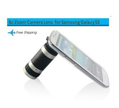 Zoom in your life... 8x Zoom Camera Lens for Samsung Galaxy S3  http://www.accestories.com/785/88/cell-phone-accessories/samsung-accessories/samsung-galaxy-s3-iii-i9300-8x-zoom-telescope-camera-lens-detail