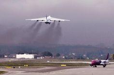 #airplane #plane #planespotting #takeoff #airportgdansk #gdansk ; photo: Andrzej Byczkowski