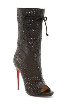 'Jennifer' Bootie CHRISTIAN LOUBOUTIN #boots #nordstrom