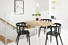 Une table à rabats facile à replier