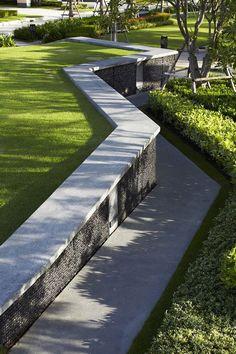 Landscape Architecture — houblon: Green Belt @ Saransiri Phaholyotin -...