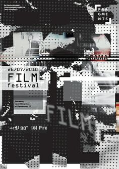 At. design department,  diploma projects film festival, 2010