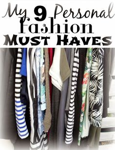 """Great post about wardrobe """"must haves"""" from the perspective of an active mother that often works from home: Funky Jungle Approved - My 9 Fashion & Wardrobe """"Must Haves"""" 