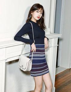 Suzy miss A Bean Pole Accessory Spring Summer 2016 Pop Fashion, Asian Fashion, Miss A Suzy, Bae Suzy, Korean Celebrities, Korean Actresses, Beautiful Asian Girls, Asian Style, Korean Beauty