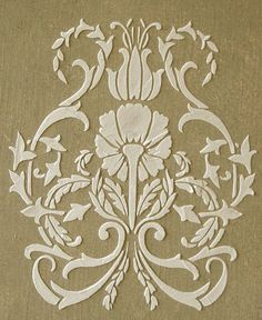This stencil can be used with common paints or joint compound for raised effects.Damask patterns on walls, furnishings, pillows and rugs have seen a recent surge in popularity. Thats exciting and calls for new and different patterns. This damask lends itself well to repeated wallpaper