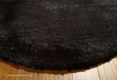 Pearl Black Circle Rug (texture close up), a super soft heavyweight handmade shaggy rug (100% polyester, hand-tufted) http://www.therugswarehouse.co.uk/round-rugs/pearl-circle-rugs/pearl-black-circle-rug.html #roundrugs #rugs #modernrugs