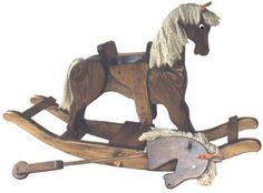 rocking horse patterns free | Toy Plans & Patterns - Rocking Horse & Hobby Horse Plan ( whoever had these are great childhood memories  most reliable toys)