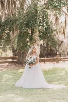 """WCB real bride Nicole wearing """"Genevieve"""" by L'amour by Calla Blanche for her rustic Florida barn wedding. Photo by Tara Tomlinson Photography. Wedding Dress Boutiques, Wedding Dresses, White Closet, Bridal Portraits, Bridal Boutique, Designer Collection, Brides, Barn, Florida"""
