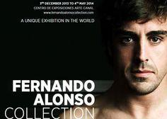 La 'Fernando Alonso Collection', hasta el 4 de mayo en Madrid. La exposición que recorre la vida deportiva de Fernando Alonso estará abierta al público hasta el 4 de mayo en el madrileño Centro de Arte Canal. La muestra cuenta con todos los karts y monoplazas del asturiano, así como con más de 270 piezas, entre cascos, monos, guantes, trofeos, fotos, vídeos, etc.