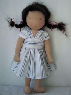 1000Rehe Anleitung für Puppenkleid Rechteck