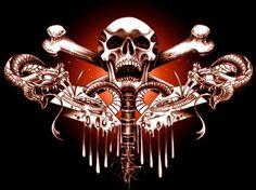 skulls and bones | skull and bones Image