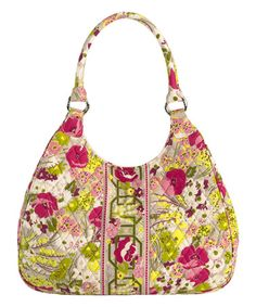 b67e908c60 This Make Me Blush Large Hobo by Vera Bradley is perfect!  zulilyfinds Best  Handbags