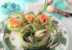 Puntarelle scottate con salsina alle acciughe per \