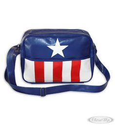 Captain America Messenger Bag Star & Stripes Hier bei www.closeup.de