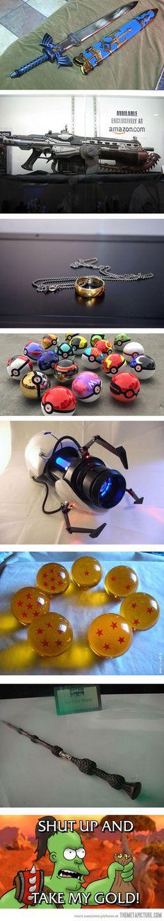 Must-have geek & gamer items