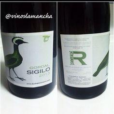 Vino blanco SIGILO. Variedad gordal. 2013.